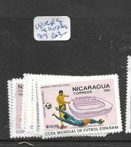 NICARAGUA  (PP1804B)  WORLD CUP FOOTBALL SC 112-9  MOG