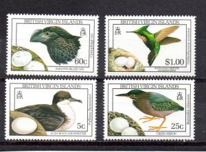Virgin Islands 658,661,663-664 MNH