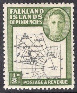 FALKLAND ISLANDS SCOTT 1L1
