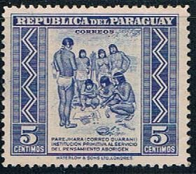 Paraguay Natives 5 - pickastamp (PP8R701)