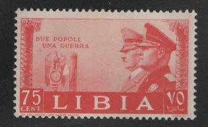 Libya Scott 100 MNH** WW2 Political People
