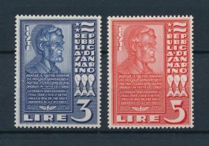 [73797] San Marino 1938 Abraham Lincoln Set from M/S MNH
