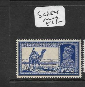 INDIA (PP3009B) KGVI 3A 6P CAMEL SG 254  MOG