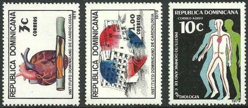 DOMINICAN REPUBLIC 811-12, C292 MNH MEDICAL [D1]