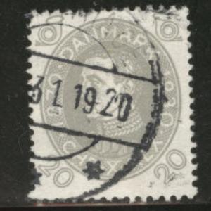 DENMARK  Scott 215 used 1930 stamp CV$8.50
