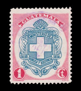 GUATEMALA STAMP 1950. SCOTT # 335. USED.