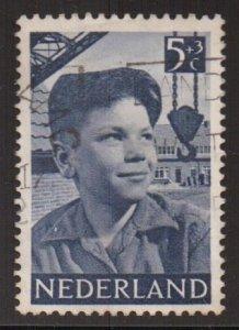 Netherlands   #B230  used 1951  child welfare 5c