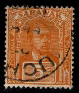 SARAWAK Scott 57 Used 1918 stamp nice cancel