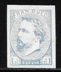 Spain X1 mh 2017 SCV $550.00 listed in BOB - see below - 10490