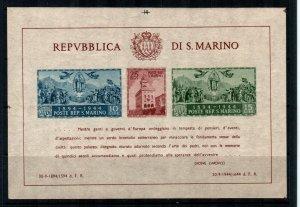 San Marino #239 Imperf  MNH  Scott $115.00