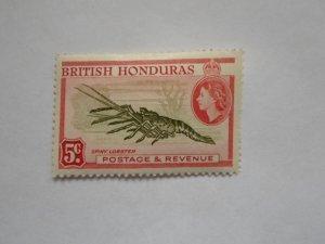 BRITISH HONDURAS STAMP MINT HINGE MARKS # 3