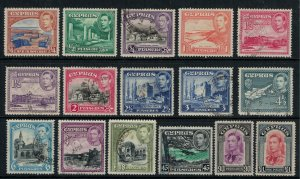 Cyprus #143-55*/u  CV $61.90