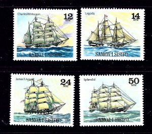 Samoa 503-06 MNH 1979 Sailing Ships    #2