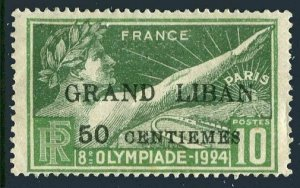 Lebanon 45,hinged.Michel 22. Olympics 1924,surcharged.
