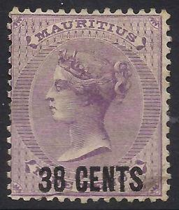Mauritius 56 Used Ave crs