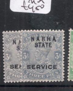 India Nabha SG O39, O39b MOG (9dmf)