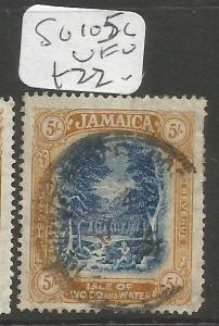Jamaica SG 105c VFU (9cqo)