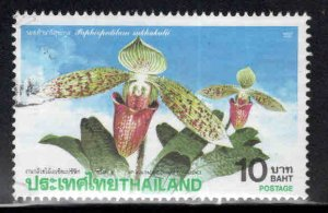 Thailand Scott 1444 Used Orchid stamp