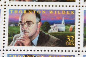 1997 sheet Thornton Wilder Sc# 3134