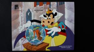 Disney - Redonda 1988. ** MNH Block/1