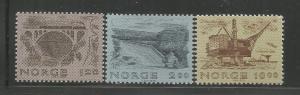 NORWAY, 750-752, MNH, KYLLING BRIDGE