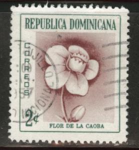 Dominican Republic Scott 489 used 1957