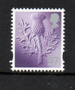 Great Britain Scotland Sc 43 2014 97p thistle stamp mint NH