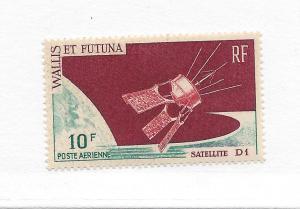 Wallis & Futuna Islands C24, French Satellite D-1 Single,**MNH**