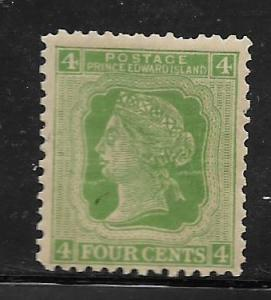 PRINCE EDWARD ISLANDS,14, MINT HINGED, QUEEN VICTORIA