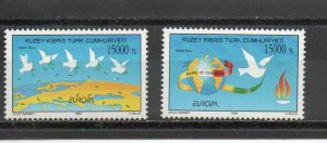 Turkish Cyprus 385a-385b MNH