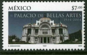 MEXICO 2361, PALACE OF FINE ARTS, 70th ANNIVERSARY. MINT, NH. VF.