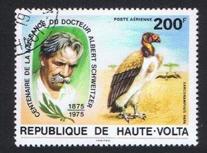 Upper Volta Vulture Birds Dr Albert Schweitzer 1975 CTO MI#579 SC#C215