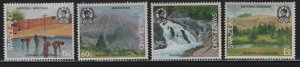 SWAZILAND 578-581 (4) Set, Hinged, 1991 National heritage