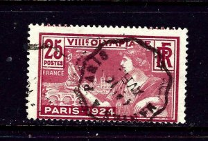 France 199 Used 1924 issue