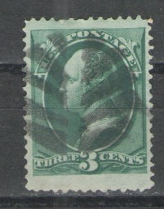 US 1879 Sc# 184 Used VG with nice Fancy Cancel