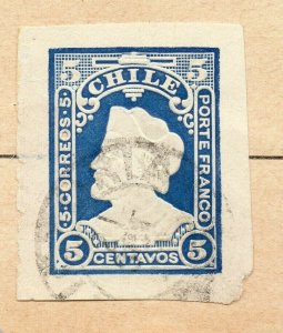 Chile 1900 Early Issue Fine Used 5c. NW-09278
