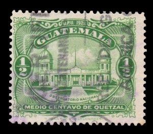 GUATEMALA STAMP 1929 SCOTT # 233. USED. # 2