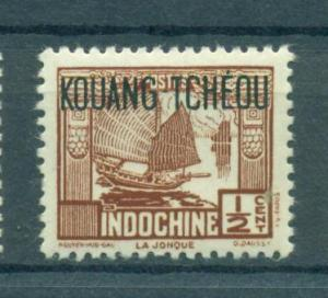 French Offices in China Kwangchowan sc# 138 mlh cat value $.25