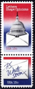 1809 - 1810 Letter Writing F-VF MNH attached pair