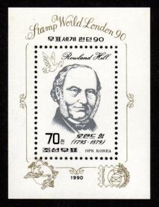 North Korea - Mint Souvenir Sheet Scott #2908 (Rowland Hill)