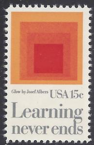 #1833 15c Learning Never Ends 1980 Mint NH