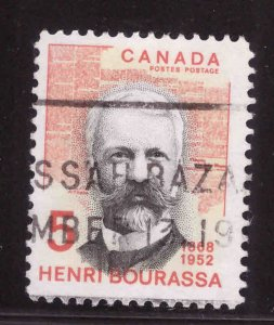 Canada Scott 485 Used stamp typical cancel