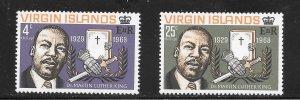 British Virgin Islands  (1968)  - Scott # 192 - 193, MNH