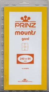 PRINZ CLEAR MOUNTS 240X84 (10) RETAIL PRICE $9.50