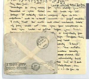 SUDAN *Shellal-Halfa* TPO Cover + Letter 1926 {samwells-covers} MS3049