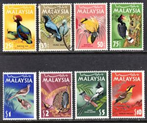Malaysia Scott 20-27  complete set  F to VF mint & used.