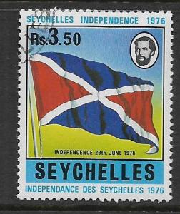 SEYCHELLES, 350, USED, INDEPENDENCE 1976
