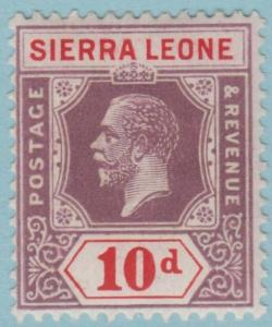 Sierra Leone 133 Mint Hinged OG * - No Faults Very Fine!!!