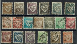 D - Mocambique 1933  Lusiadas complet set used # 270/88