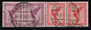 Germany Scott # C29 (2), C28 (2), used, se-tenant, Mi # W22